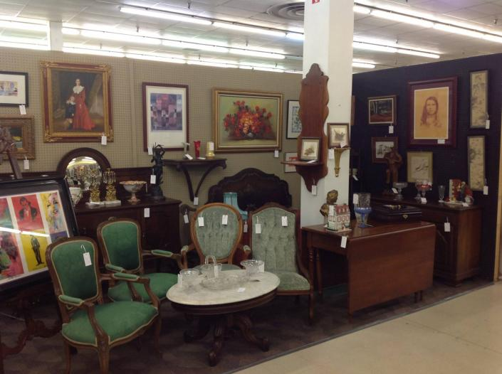 [Image: Find a variety of beautiful antique furniture right here! ]