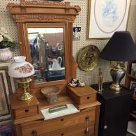 Looking for a dresser? A Beautiful hutch for your dinning room? We have them!