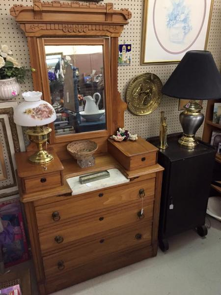 [Image: Looking for a dresser? A Beautiful hutch for your dinning room? We have them! ]